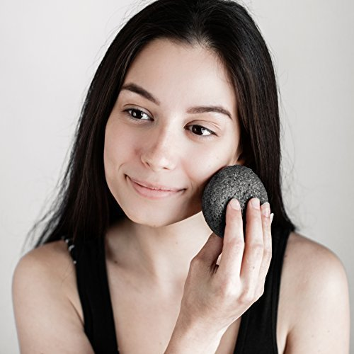 PureSOL Activated Charcoal Konjac Sponge