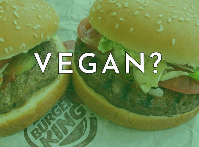 Burger King Vegan Whopper
