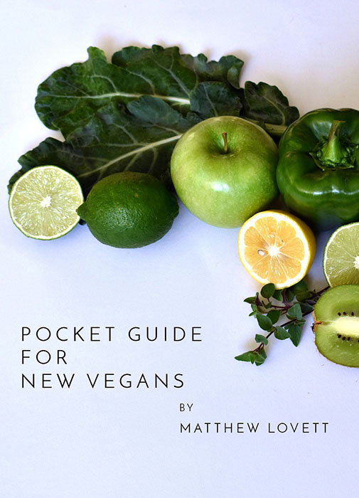 Vegan Pocket Guide Cover