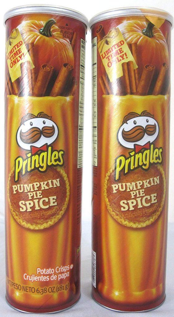 Pumpkin Spice Pringles