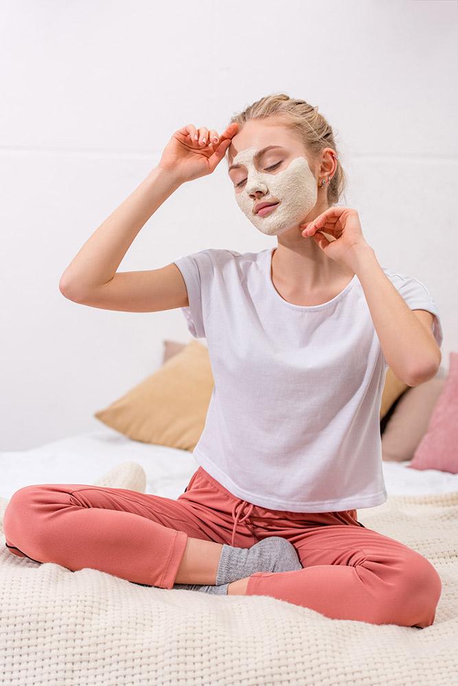 Kaolin Clay Face Mask Beauty