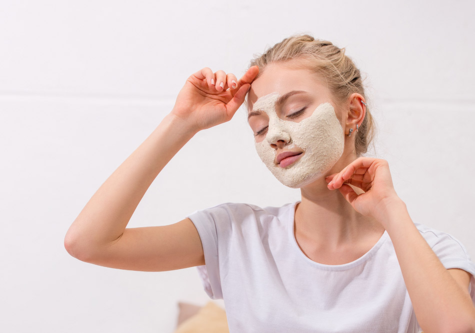 Kaolin Clay Mask Girl Healthy