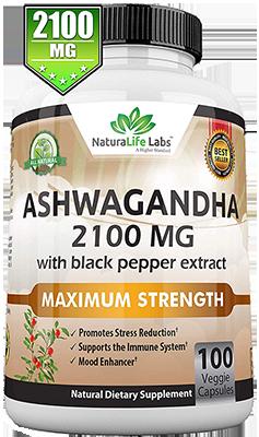 Organic Ashwagandha Stress Relief