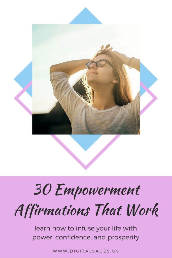 30 Empowerment Affirmations