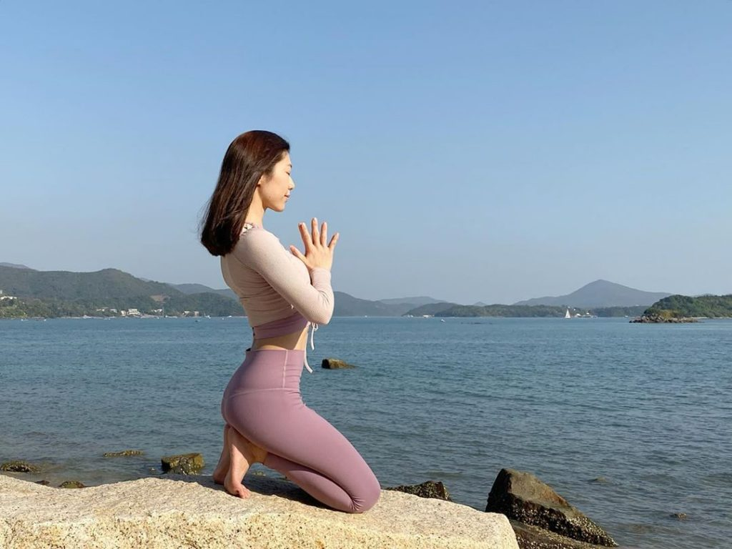 Poise and strength yoga motivation