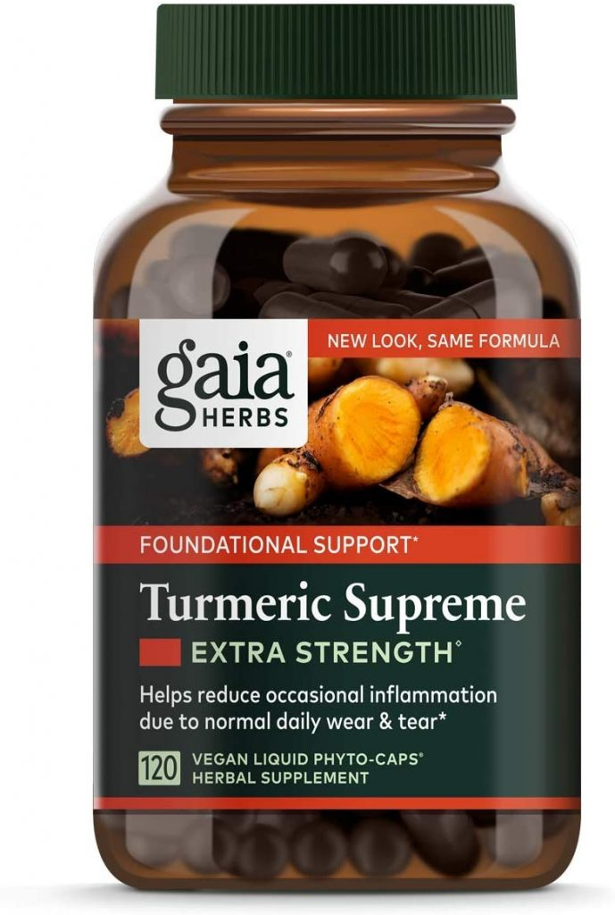 vegan turmeric supplement