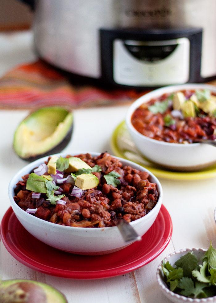 Best Slow Cooker Vegan Chili