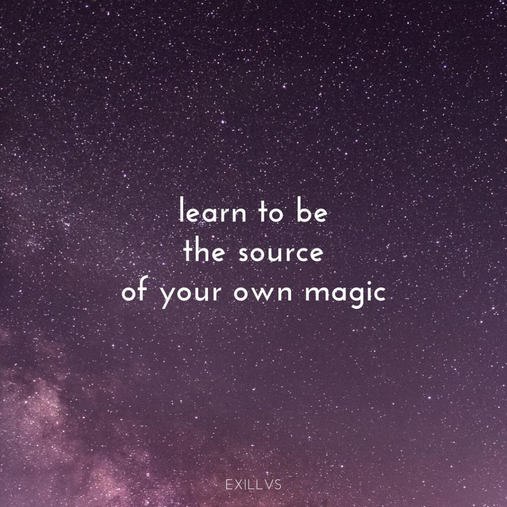 Be Your Own Magic